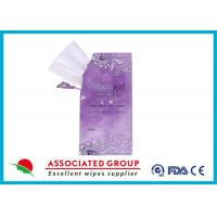 Individually Wrapped Portable Natural Care Feminine Hygiene Wipes For Sensitive Skin Manufactures
