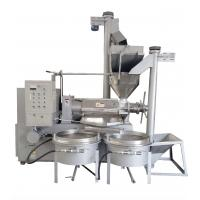 300-500kg/Hr Edible Oil Production Line Full Automatic For Palm Oil / Sesame Oil Manufactures