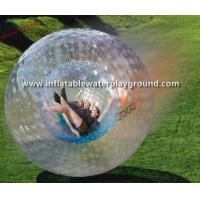 Giant PVC / TPU Inflatable Zorb Ball Crazy Soccer Bubble For Rolling Sports Manufactures
