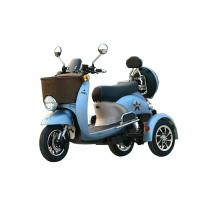 20AH Battery Electric Three Wheel Motorcycle 6-8h Charge Time With Rear / Front Box Manufactures
