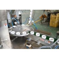 Bottle Cap Lining Machine / Cut Insert Sealing Aluminum Foil Lining Machine Manufactures