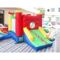 mini bouncy castle with slide Manufactures