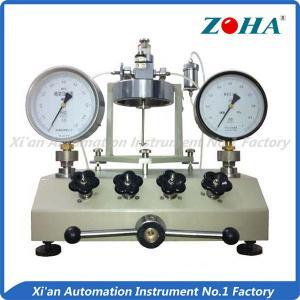 China Stable Vacuum Gauge Calibration Equipment / Workable Vacuum Pressure Calibrator on sale