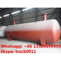 hot sale 15,000L buried propane gas storage tanker for sale, ASME standard underground lpg gas storgage tank for sale Manufactures