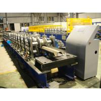 Hot Dip Galvanized Highway Guardrail Roll Forming Machine With CE Certification Manufactures