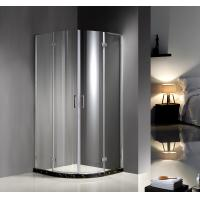 900X900X1900 6MM tempered glass Professional Hinged Quadrant Shower Enclosure , Curved Corner Shower Units Manufactures