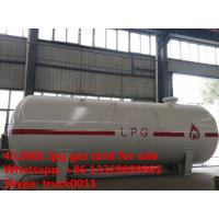 best price CLW brand 45,000L surface lpg gas storage tank for sale, hot sale stationary propane gas storage tank Manufactures