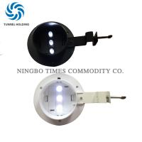 Quality 3 LED Solar Powered Gutter Lights IP55 Solar Outside Wall Lights For Fence for sale