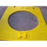 Polyurethane Rubber Drilling Platform Rotary Table Anti-Slip Safety Mat Manufactures