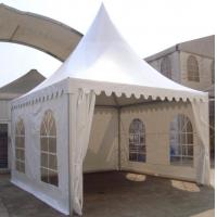 Flame Retardant Outdoor High Peak Pagoda Tents / Wedding Party Marquee Manufactures