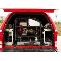 Red Painting Fire Command Vehicles With Direct Injection Diesel Engine Manufactures
