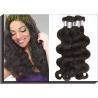 Soft Peruvian Human Hair Weave 100g / Peruvian Body Wave Bundles Manufactures