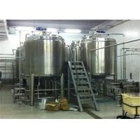 Low Noise 5 T/H Apple Juice Production Line With Aseptic Brick Carton Package Manufactures