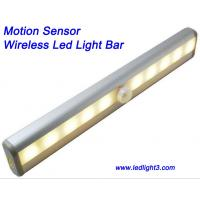 Portable Motion Sensor Wireless Led Light Bar USB Rechargeable with magnetic strip Cabinet Light Manufactures