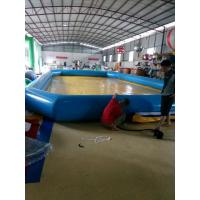 Customized 0.9 Mm PVC Tarpaulin Inflatable Family Pool For Baby Manufactures
