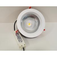 Buy cheap 18W/24W/30W Good Dissipation COB LED Down Light Aluminum New Styles For Hall Residential from wholesalers