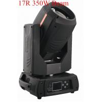 Quality Show Lighting DMX512  Beam 17R 350W Moving Head With Frost Effect for sale