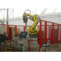 PLC Control Robotic Palletizing System Loader For Beverage Industry Manufactures