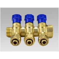 Quality simple style manifolds for floor heat system for sale
