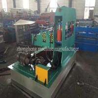 Metal Sheet Roof Profile Hydraulic Crimping Machine 3 rows With PLC Control Manufactures