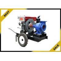 High Pressure Water Pump Single Stage , Agriculture Diesel Engine Pump Irrigation Manufactures