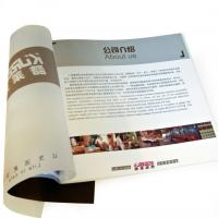 Quality UV coated offset paper flyer printing / Color Booklet Printing Service with SGS for sale