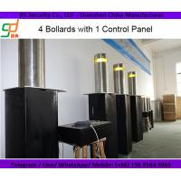 Flashing Lights Remote Control Hydraulic Bollards For Security , Waterproof Manufactures