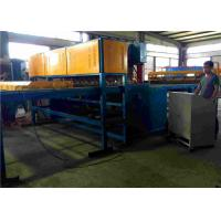 Quality Pre - Cut Line Wire Feeding Fence Mesh Welding Machine PLC Controlled for sale