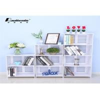 Buy cheap Multi - Layer Desktop Computer Desk , White Multi Size Simple Storage Rack from wholesalers