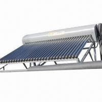 Solar Water Heater with 300L Water Capacity, Get Fresh and Pressurized Solar Water by Exchange Coil Manufactures