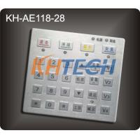 Security access control stainless steel keypads Manufactures