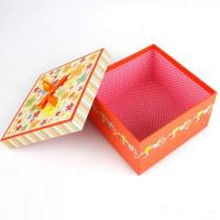 5 * 5 * 4 Inch Cardboard Candy Gift Box, Chocolate Packaging Boxes With Coated Paper Cover Manufactures