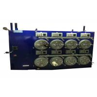 Super Saving Power Vertical Enameling Machine 0.1-0.3mm With Double Hearth Manufactures