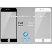 China Nano Coating iPhone Tempered Glass Screen Protector ,  Privacy iPhone 6 Screen Guard on sale