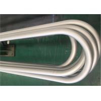 ASTM B444 Gr.2 INCONEL 625 Seamless U Bend Tube N06625 100% UT & ET & HT  For Heat Exchanger Boiler Manufactures