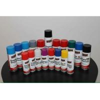 Highly Durable Colorful Spray Paint Scratch Resistant For Plastic / Metals Manufactures