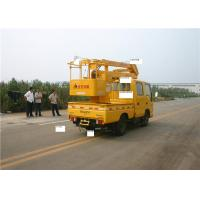 3-Section 96kw 5 Person KaiFan Truck Mounted Access Platform 16M Telescopic Boom Manufactures