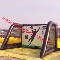 Inflatable soccer dummy inflatable soccer training dummy inflatable soccer goal Manufactures