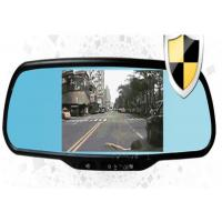 Touch Screen Car Rearview Mirror Camera DVR Night Vision Support 32GB TF Card