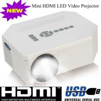 China Multimedia Home Used LED Lamp Portable Projector With HDMI USB VGA Work For DVD PS Wii on sale