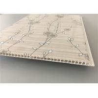 Quality 30 Cm Laminated Pvc Wall Panel , Kitchen Cabinet Laminate Sheets Non Flammable for sale