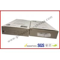 300gsm Paper Box Card Board Packaging With Clear Window And Blister