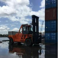 Powerful Power Lift Forklift , Heavy Equipment Forklift Environmental Protection Manufactures