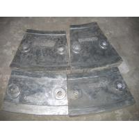 Cr12 Mill Liners White Iron Castings for Coal Mill , Metal Casting Supplies Manufactures