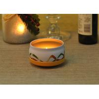 Large Colored Tin Candle Holders Box Personalised For Home Fragrance Manufactures