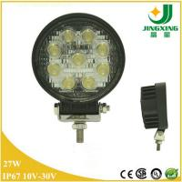 """Hot truck led light 27w 4"""" led tractor working light with spot flood beam Manufactures"""