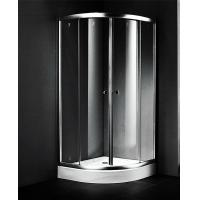Quality 900x900 Small Corner Shower Units , Fiberglass Shower Enclosures Sliding Open for sale