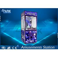 Easy Management Crane Game Machine Hardware / Plastic / Wood Material Manufactures