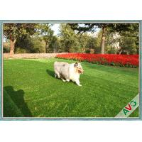 Balcony Banquet Pet Artificial Turf Fire Resistant SBR-Latex / PU Backing Manufactures