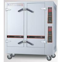 Digital Contro Commercial Electric Steamer Large Vegetable Steamer Double Door Manufactures